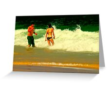 Candid Camera Greeting Card
