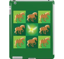 Abstract Epona on a field of green iPad Case/Skin