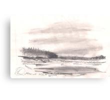 TOFINO BEACH(C1998) Canvas Print