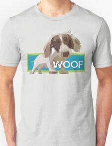 WOOFER - Dog Puppy Dachshund Geometric T-Shirt