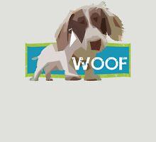 WOOFER - Dog Puppy Dachshund Geometric Unisex T-Shirt