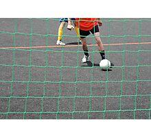 street soccer Photographic Print