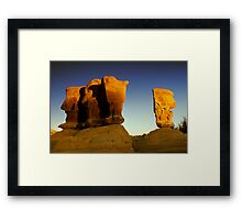 Four Kings Framed Print