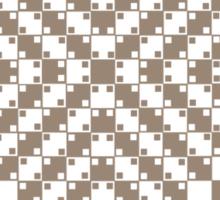 Parallel Optical Illusion Sticker