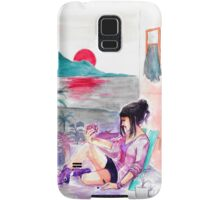 H mugs and purple chucks Samsung Galaxy Case/Skin