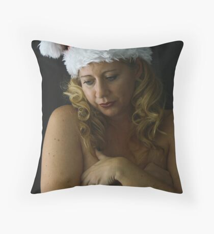 Christmas Without You Throw Pillow