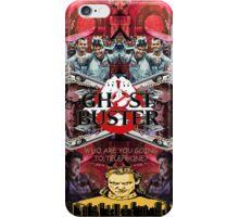 Ghosterbuster Vapor iPhone Case/Skin
