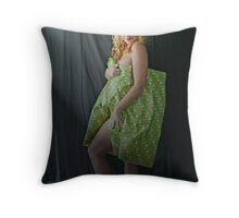 Naughty or Nice? Throw Pillow