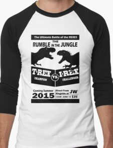 The Rumble in the Jungle Men's Baseball ¾ T-Shirt