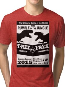 The Rumble in the Jungle Tri-blend T-Shirt