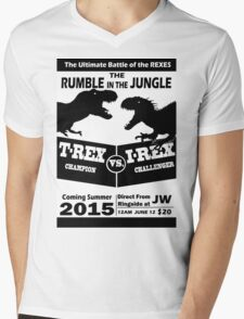 The Rumble in the Jungle Mens V-Neck T-Shirt