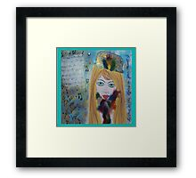 Free the Musician Framed Print