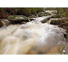 Rush To The River  Photographic Print