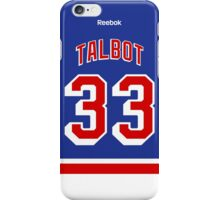 New York Rangers Cam Talbot Jersey Back Phone Case iPhone Case/Skin