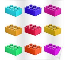 Warhol Toy Bricks Poster