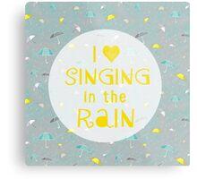 Singin' In The Rain Metal Print