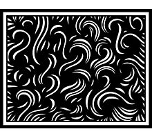 Murdick Abstract Expression Black and White Photographic Print