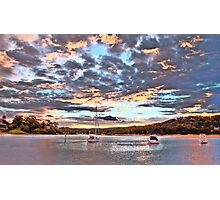 Pink - Newport - The HDR Series Photographic Print
