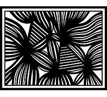Norred Abstract Expression Black and White Photographic Print