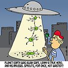 The humble brussel sprout saves planet earth by Tim Mellish