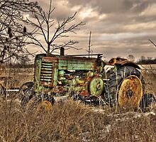 Old John Deere by Kate Adams