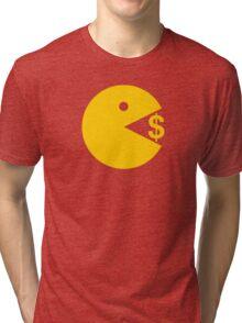 Eating Money - Manny Pacquiao  Tri-blend T-Shirt