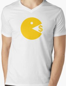 Eating Money - Manny Pacquiao  Mens V-Neck T-Shirt