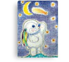 Pooky Stargazing Canvas Print
