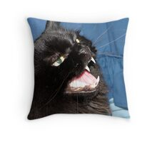 Nice Teeth! Throw Pillow