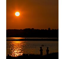 Campo Beach Sunset Photographic Print