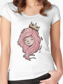 Little Crown Women's Fitted Scoop T-Shirt