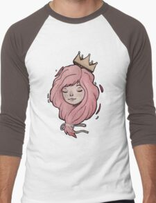Little Crown Men's Baseball ¾ T-Shirt