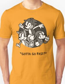 [Sonic the Hedgehog] Gotta Go Fast T-Shirt