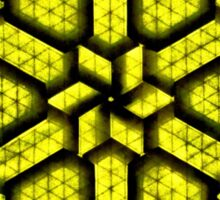 Triangles Sticker