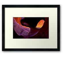 Desert Eye Framed Print