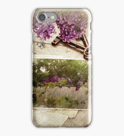 Keys to Springtime iPhone Case/Skin