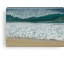 Hawaiian Shore Break  Canvas Print