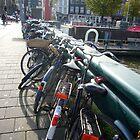 Amsterdam Bikes by Scott Chalmers