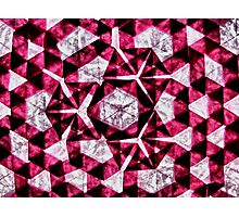Abstract Geometric Photographic Print