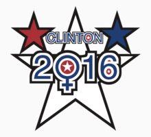 Clinton 2016 One Piece - Short Sleeve