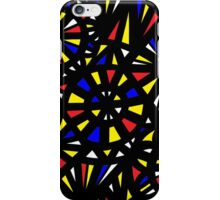 Rusche Abstract Expression Yellow Red Blue iPhone Case/Skin