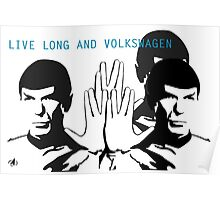 Live Long and VW - By SUMO Poster