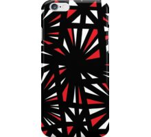 Insalaco Abstract Expression Red White Black iPhone Case/Skin