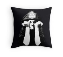 Aleister Crowley Throw Pillow