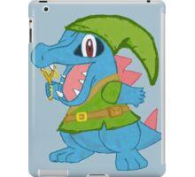 Totodile in Hyrule iPad Case/Skin
