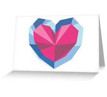 Heart piece Greeting Card