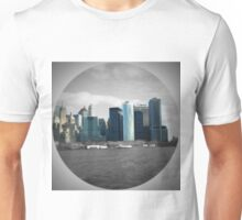 NYC Towers On Water Unisex T-Shirt