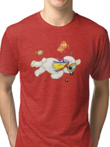 Pooky is a Snorkellin' Tri-blend T-Shirt