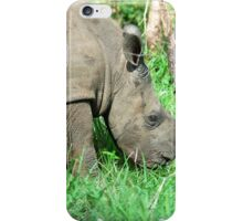 UP CLOSE THE BABY RHINO - White Rhinoceros - Ceratotherium simum  -  WIT RENOSTER iPhone Case/Skin