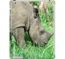 UP CLOSE THE BABY RHINO - White Rhinoceros - Ceratotherium simum  -  WIT RENOSTER iPad Case/Skin